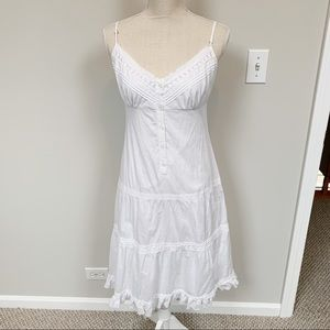 Benetton Tiered Slip Dress